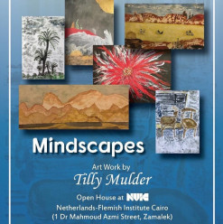 Mindscapes Exhibition ft. Tilly Mulder @ NVIC