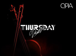 Thursday Night ft. DJ Mahmoud Raafat / Percussion - Zeina @ OPIA Cairo