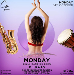 Belly Dancing Show / Saxophonist, Percussion & Tabla Shows / DJ Kajo @ Gŭ Lounge