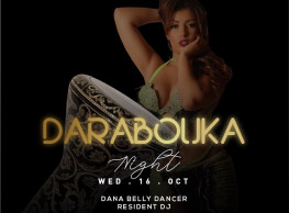 Darabouka Night ft. Dana Belly Dancer / Resident DJ @ Stage One Bar & Lounge
