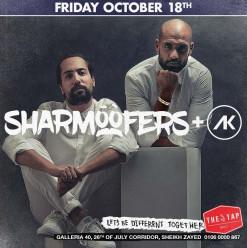 Sharmoofers + DJ AK @ The Tap West