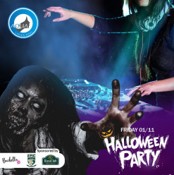 Halloween Party ft. Bachella-Henna Nights / Roaa Makeup Artist / Tabla – Sara Albotaty / Belly Dancer – Viktoria @ Aqua Ladies Pool: Ruya Club