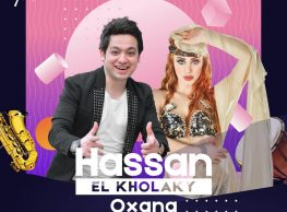 Hassan El Kholky / Oxana Belly Dancer / Saxophonist & Percussion Show / DJ Kajo @ Gŭ Lounge
