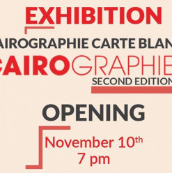 Cairographie Exhibition-Carte Blanche Edition @ Darb 1718