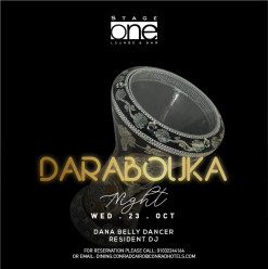 Darbouka Night ft. Belly Dancer – Dana @ Stage One Bar & Lounge