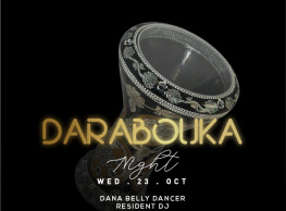 Darbouka Night ft. Belly Dancer - Dana @ Stage One Bar & Lounge