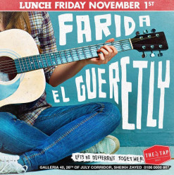 Friday Brunch ft. Farida El Guertly @ The Tap West