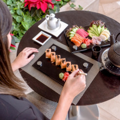 All You Can Eat Sushi @ Hilton Cairo Heliopolis Hotel, Saki Japanese Restaurant