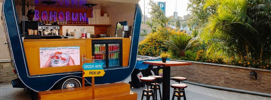 BohoBun: Delicious Burgers on Wheels at Arkan Plaza in Sheikh Zayed