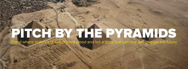 Pitch by the Pyramids – Powered by RiseUp @ The Great Pyramids Of Egypt