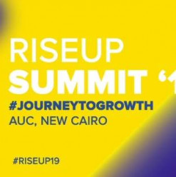 RiseUp Summit 2019 @ AUC: The American University in Cairo – New Cairo