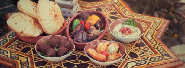 Winter Garden: Egyptian Night Restaurant @ Hilton Cairo Heliopolis