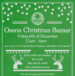 The Osana Christmas Bazaar @ Osana Family Wellness