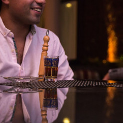 Alexandrian Nights: Shisha Lounge @ Four Seasons Hotel Alexandria: San Stefano