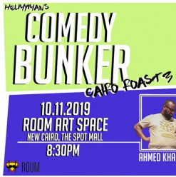 COMEDY BUNKER Cairo Roast 3: Stand-up Comedy Night @ ROOM Art Space New Cairo
