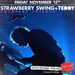 Coldplay Tribute: Strawberry Swing / DJ Teddy @ The Tap Maadi