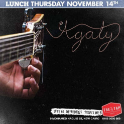 Thursday Lunch ft. Agaly @ The Tap East