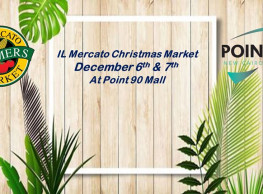 IL Mercato Christmas Market @ Point90 Mall