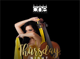 Thursday Night ft. Belly Dancer / Mohab Violinist / Moustafa Drums / DJ Soly @ Stage One Bar & Lounge