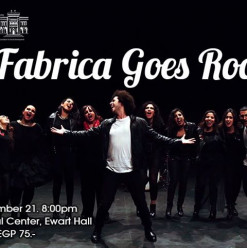 Fabrica Goes Rock Concert @ AUC – Tahrir Cultural Center