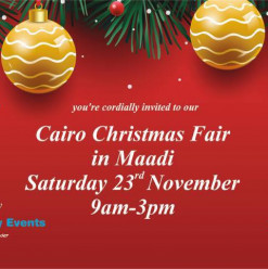 Cairo Christmas Fair @ The Field