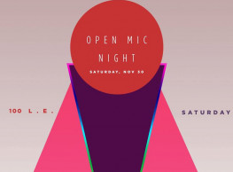 November Open Mic pt. II @ Bardo Clubhouse