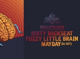 Alt Tuesday ft. Dirty Backseat / Fuzzy Little Brain / Mayday (DJ Set) @ Cairo Jazz Club