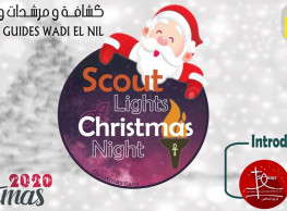 Scout Lights A Christmas Night @ Notre Dame Des Apotres Zeitoun