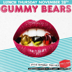 Thursday Lunch ft. Gummy Bears @ The Tap East