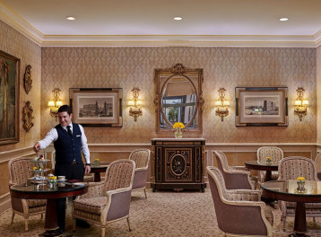 Afternoon Tea: Lobby Lounge @ Four Seasons Hotel Alexandria: San Stefano