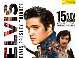 Elvis Presley Tribute @ Grand Nile Tower Hotel