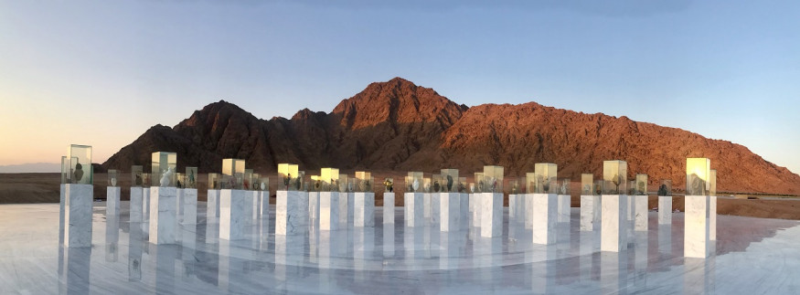 'Reviving Humanity' Memorial: A Gently, Artistic Reminder of What Unites Humanity at Sharm El Sheikh