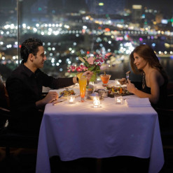 Romantic Dinner: Revolving Restaurant & Lounge @ Grand Nile Tower Hotel