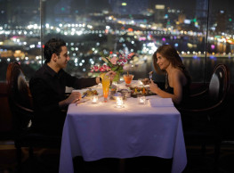 Romantic Dinner at the Revolving Restaurant & Lounge