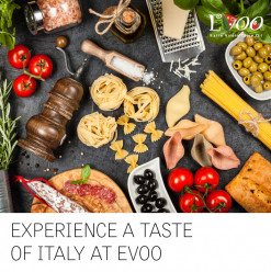 Experience A Taste Of Italy @ EVOO Restaurtant: Le Méridien Cairo Airport