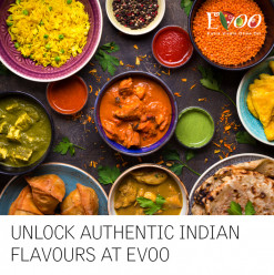 Unlock Authentic Indian Flavours @ EVOO Restaurtant: Le Méridien Cairo Airport