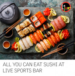 All You Can Eat Sushi @ Live Sports Bar: Le Méridien Cairo Airport