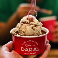 Dara's Ice Cream: The All-Time Favourite Ice Cream Makes it to Zamalek with a New Branch