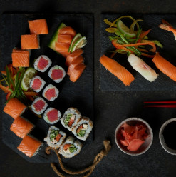 All You Can Eat Sushi: Okashi Restaurant @ Grand Nile Tower Hotel
