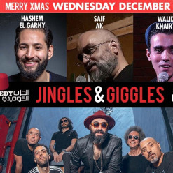 'Jingles and Giggles' at the Tap West