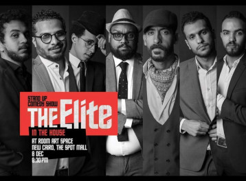The Elite Stand-Up Comedy Show at ROOM Art Space New Cairo