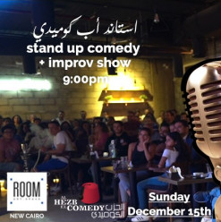 Stand-Up Comedy Show at ROOM Art Space New Cairo