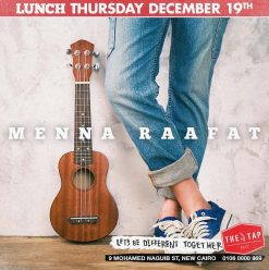 Thursday Lunch ft. Menna Raafat @ The Tap East