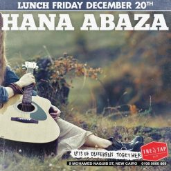 Friday Brunch ft. Hana Abaza @ The Tap East