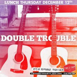 Thursday Lunch ft. Double Trouble @ The Tap East