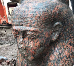 Ancient Bust of Ramses II Unearthed in Giza