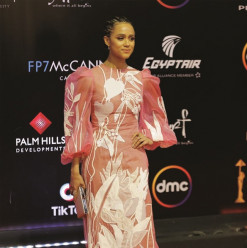 Game of Thrones Star Nathalie Emmanuel Graces CIFF's Closing Ceremony