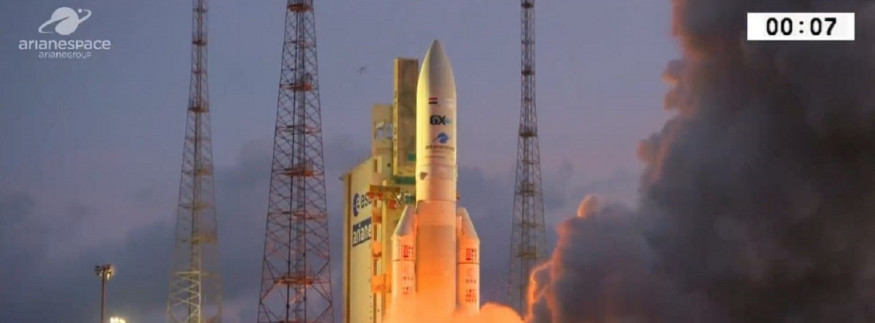 First Egyptian Telecommunications Satellite Tiba-1 Successfully Launched