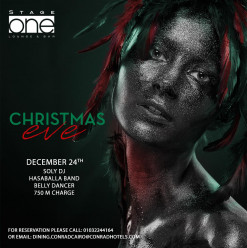 Christmas Eve ft. DJ Soly / Hasaballa Band / Belly Dancer @ Stage One Bar & Lounge