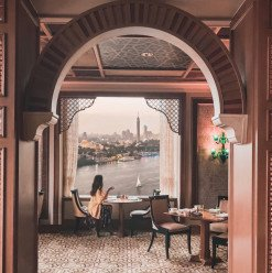 Christmas Lunch @ Zitouni Restaurant: Four Seasons Hotel Cairo At Nile Plaza